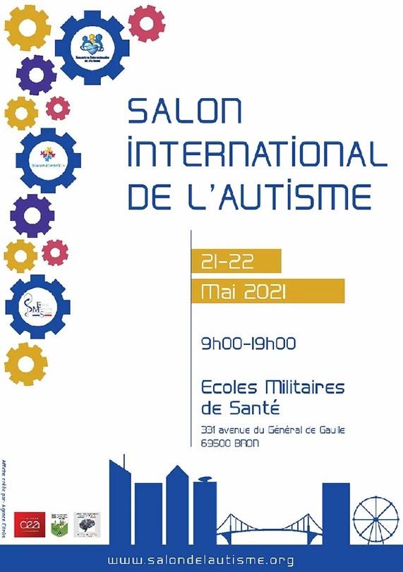 Affiche salon international de l'autisme 26-27 mars