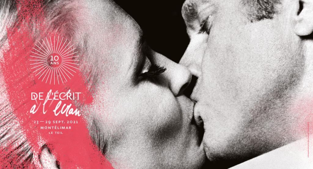 Affiche du 10ème festival du film De l'écrit à l'écran